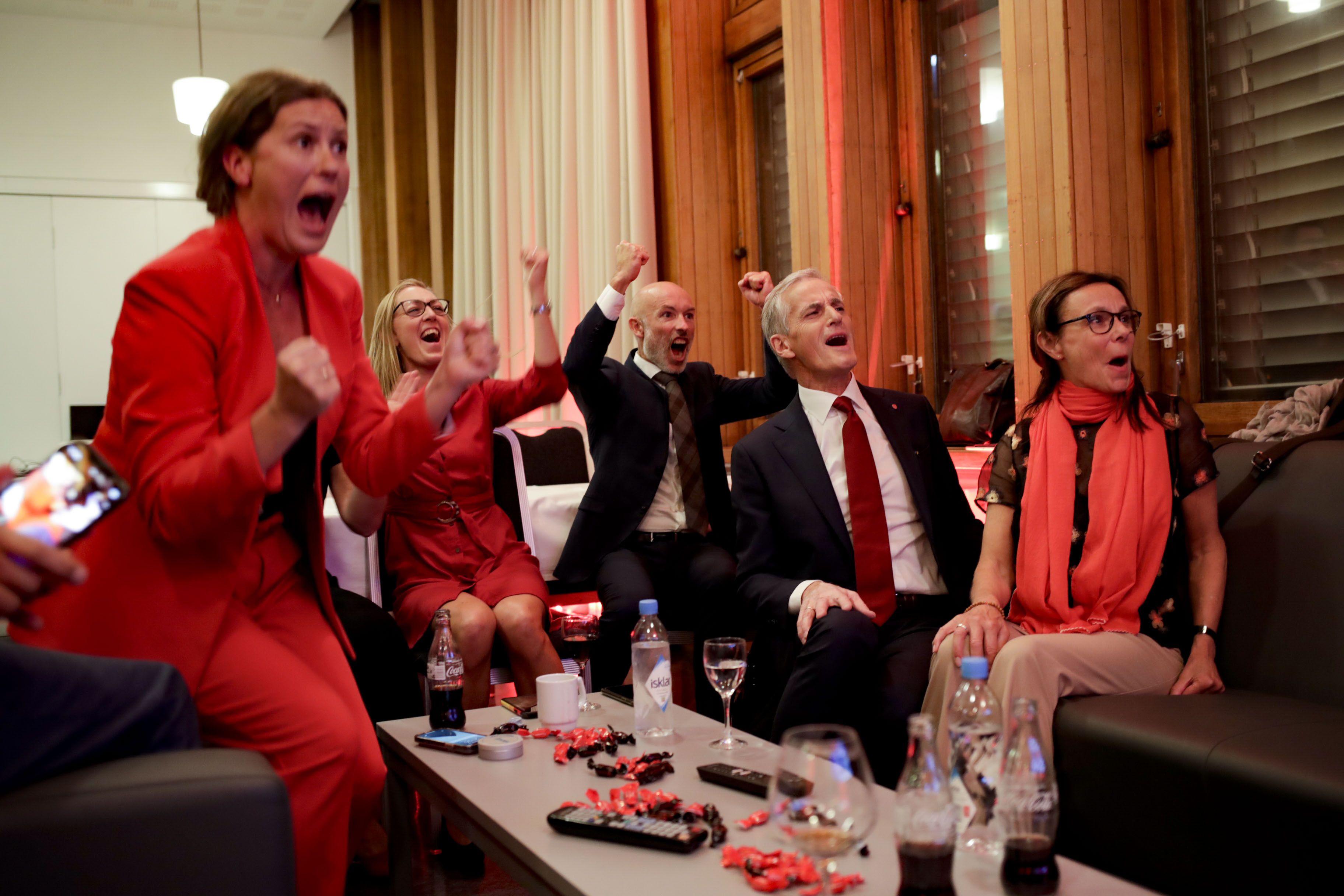 noruega: centro-izquierda se enfila a triunfo en elecciones