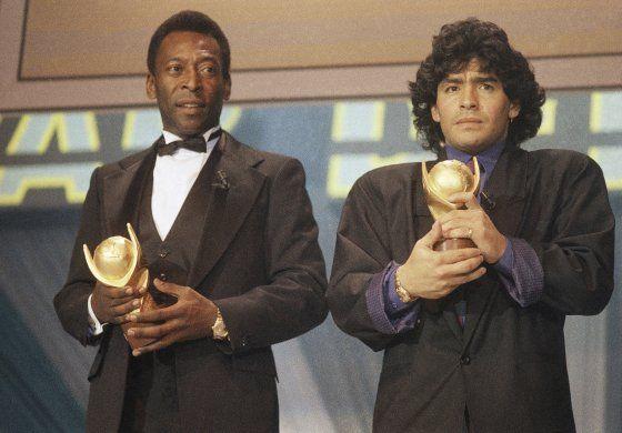 Se fue Maradona, el jugador que ocupó el trono de Dios