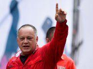 diosdado cabello nego las protestas en cuba: cinco tuits no van a terminar con la revolucion