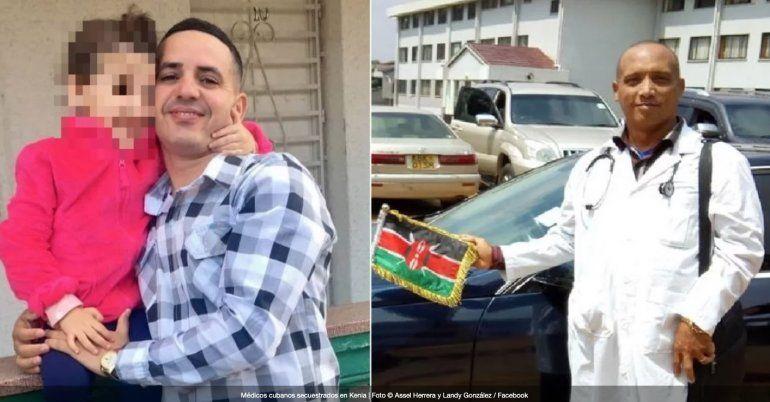 Médicos cubanos llevan casi dos años secuestrados