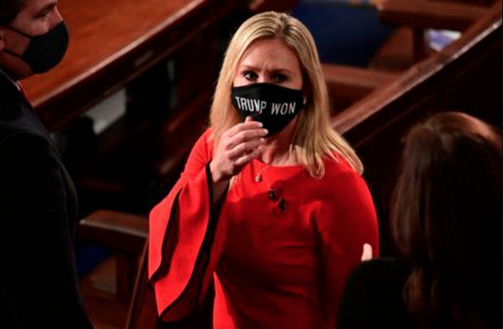 Congresista republicana  presenta  acusación de impeachment contra Biden