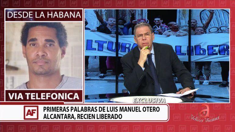 Entrevista exclusiva con Luis Manuel Otero Alcántara tras ser liberado