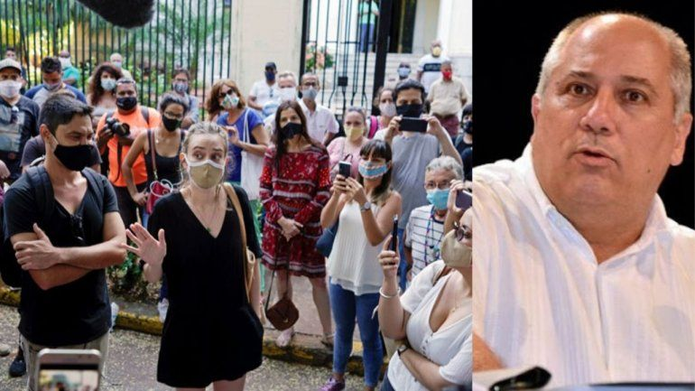 Ministro de Cultura rompe el silencio...y el diálogo