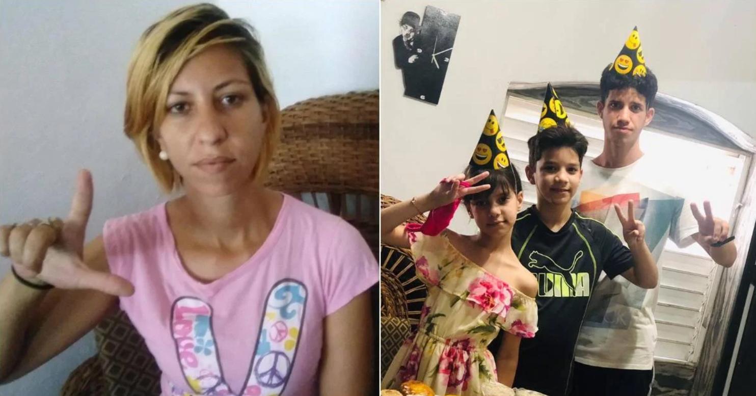 cuba: liberan a joven madre arrestada en la protesta pacifica de la calle obispo, en la habana