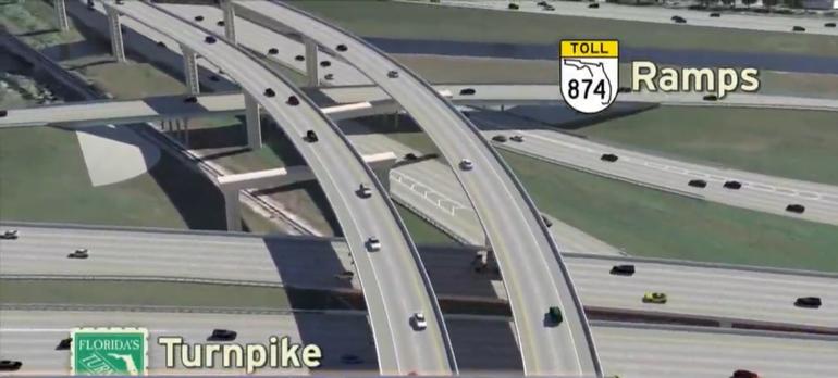 Nueva rampa al oeste de Kendall aliviará el tráfico de manera significativa