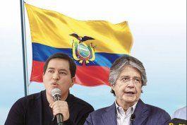 elecciones en ecuador: guillermo lasso prometio un pais libre y democratico y andres arauz animo a un voto de esperanza