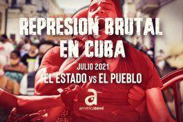 compilacion de todos los videos de la brutal represion que sufrieron los manifestantes cubanos