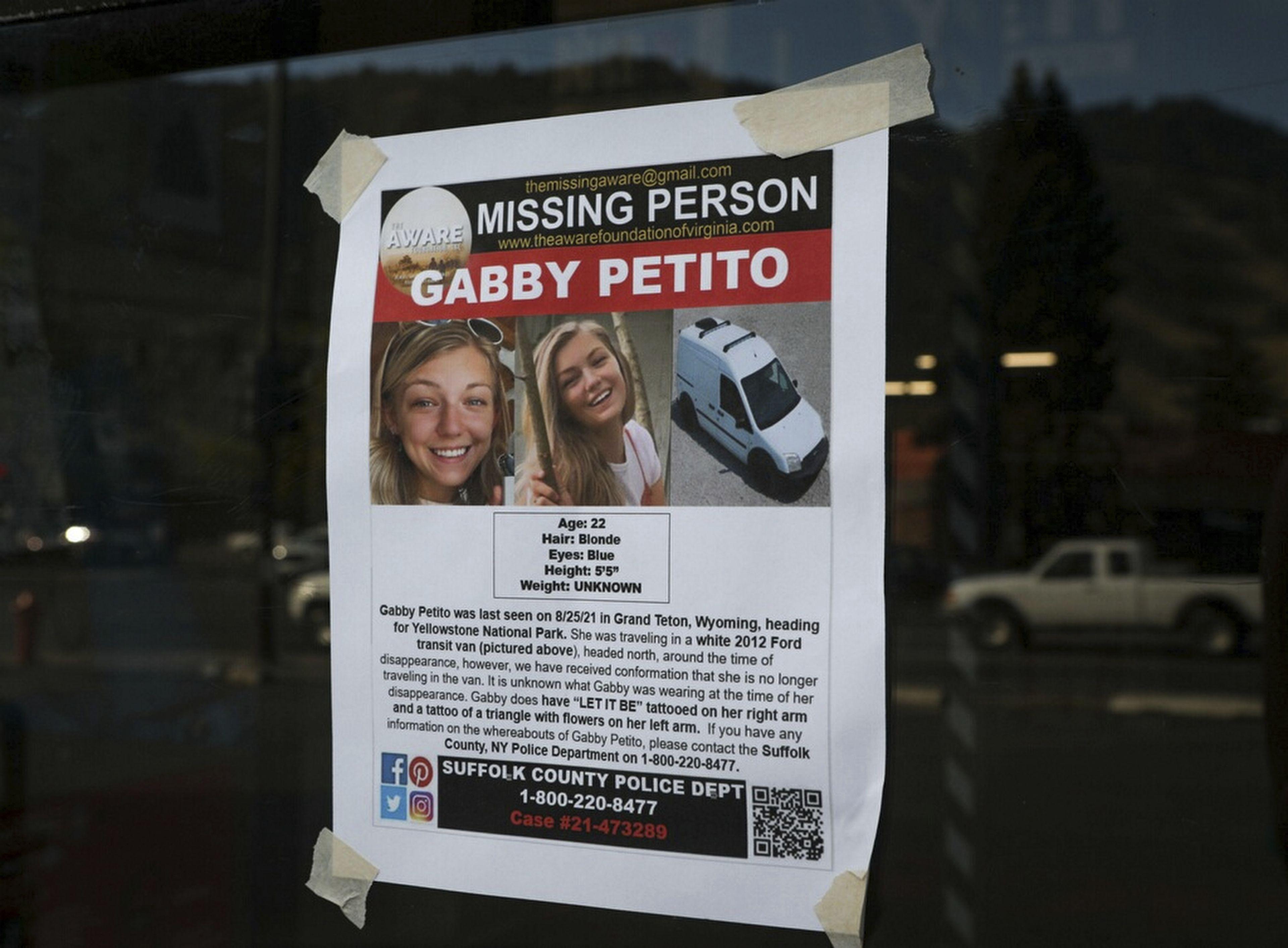 Cuerpo hallado en Wyoming podría ser de viajera desaparecida