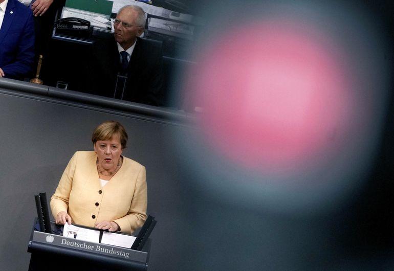 Merkel: partido es consciente de que deberá luchar por votos