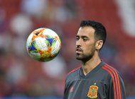 espana: busquets da negativo para covid-19, regresa a equipo