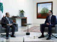 libano: renuncia premier por diferencias con el presidente