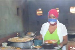 croqueta es el unico plato fuerte para ancianos en guantanamo