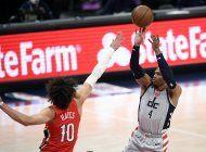 westbrook anota 10 en la prorroga; wizards vencen a pelicans