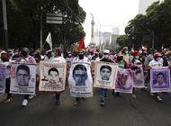 mexico: protestan por falta de justicia en caso ayotzinapa