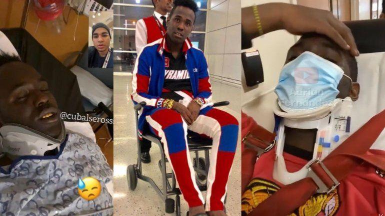 Chocolate MC ya está en casa tras aparatoso accidente de tránsito en Tampa