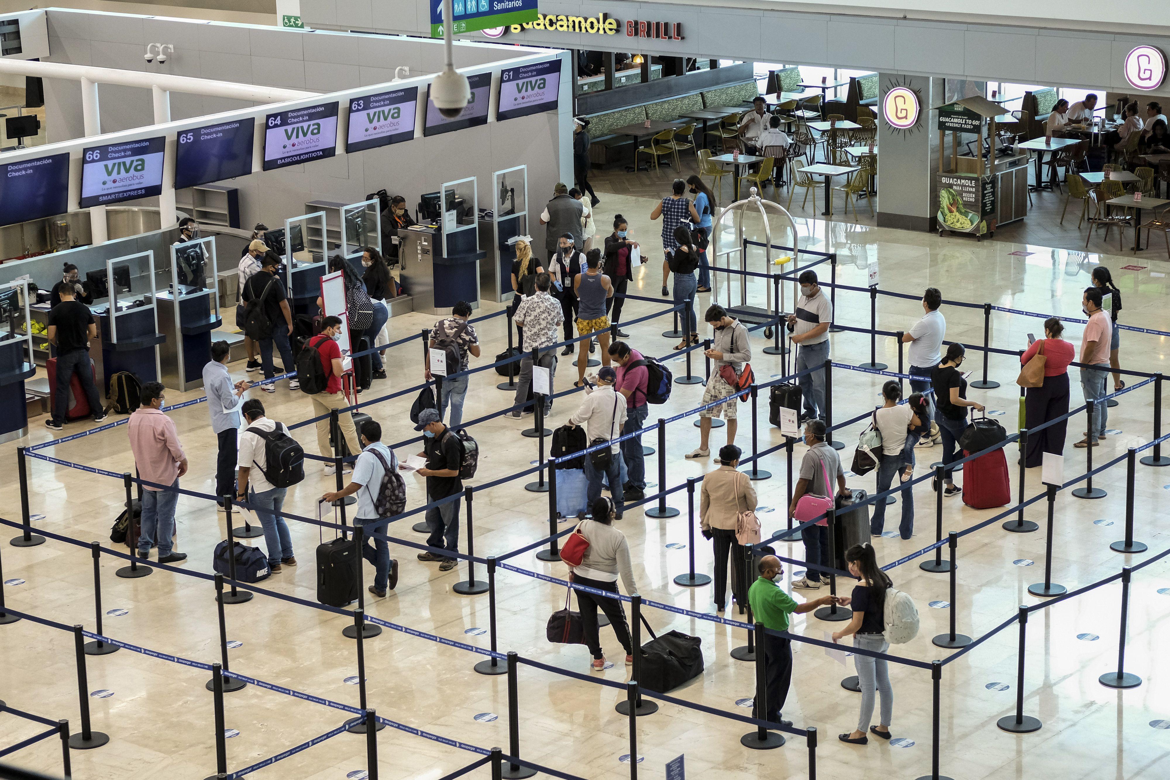 mexico: cancun recibe mayor cantidad de pasajeros desde 2019