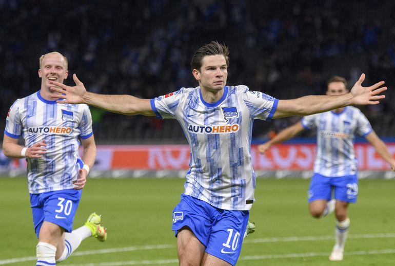 Ekkelenkamp debuta con gol y Hertha gana de nuevo