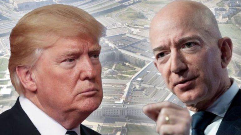 Trump vs. Bezos: cómo dos de los hombres más poderosos del mundo están enfrentados por un millonario contrato del Pentágono