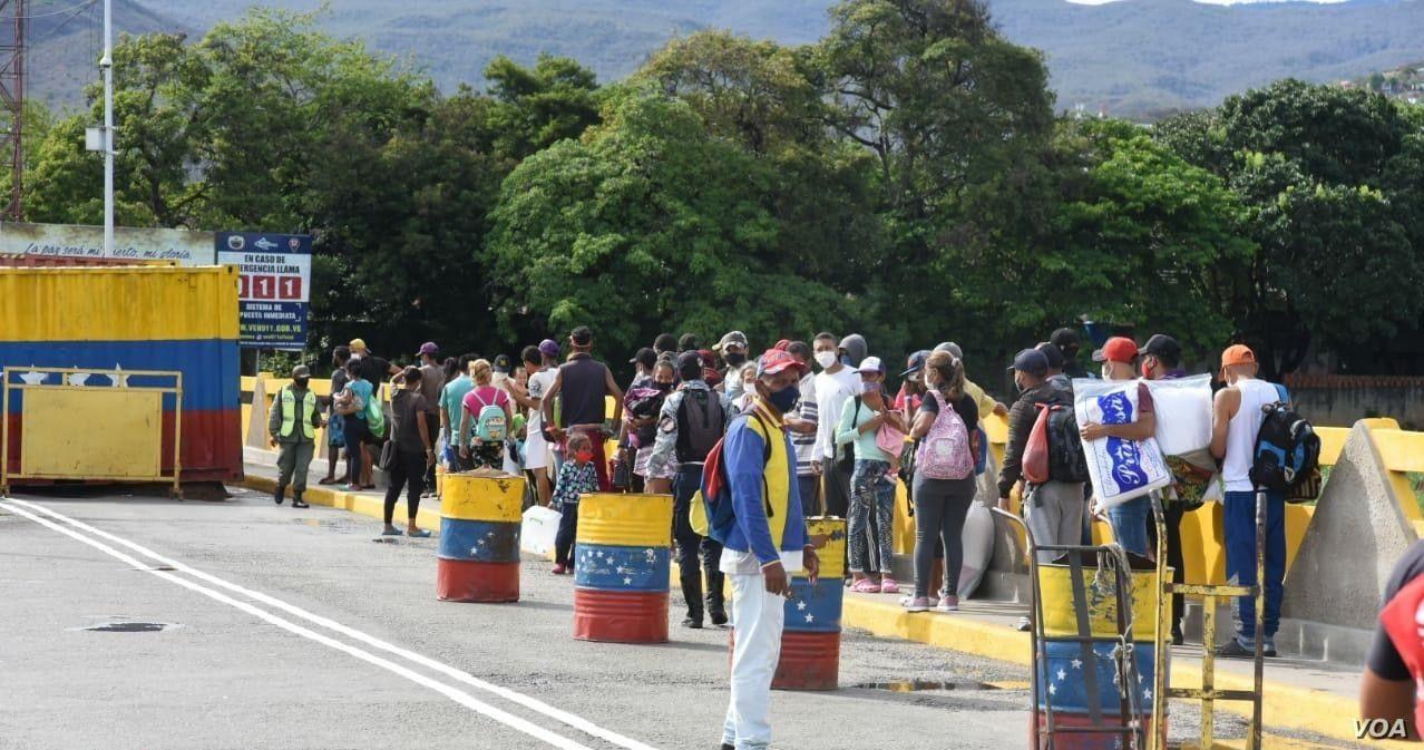 las autoridades de colombia y venezuela ultiman detalles para reabrir el paso peatonal fronterizo