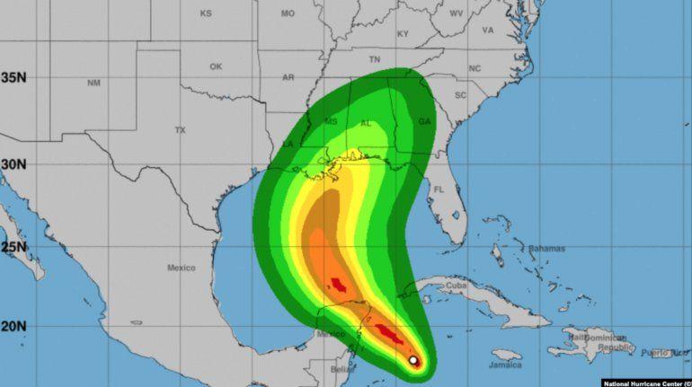 La tormenta tropical Zeta se dirige a Yucatán, pero podría afectar el occidente de Cuba