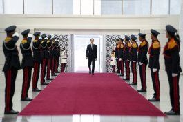el presidente sirio bashar assad jura para un cuarto mandato