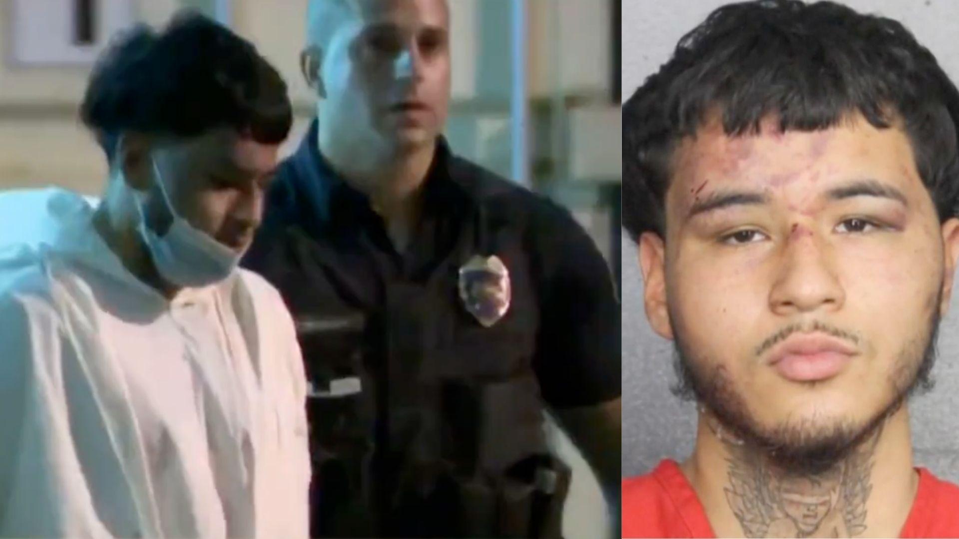 Sin fianza acusado de balear mortalmente a policía de Hollywood