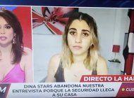 el regimen arresta a la influencer cubana dina stars mientras hablaba en vivo con un canal de television espanol
