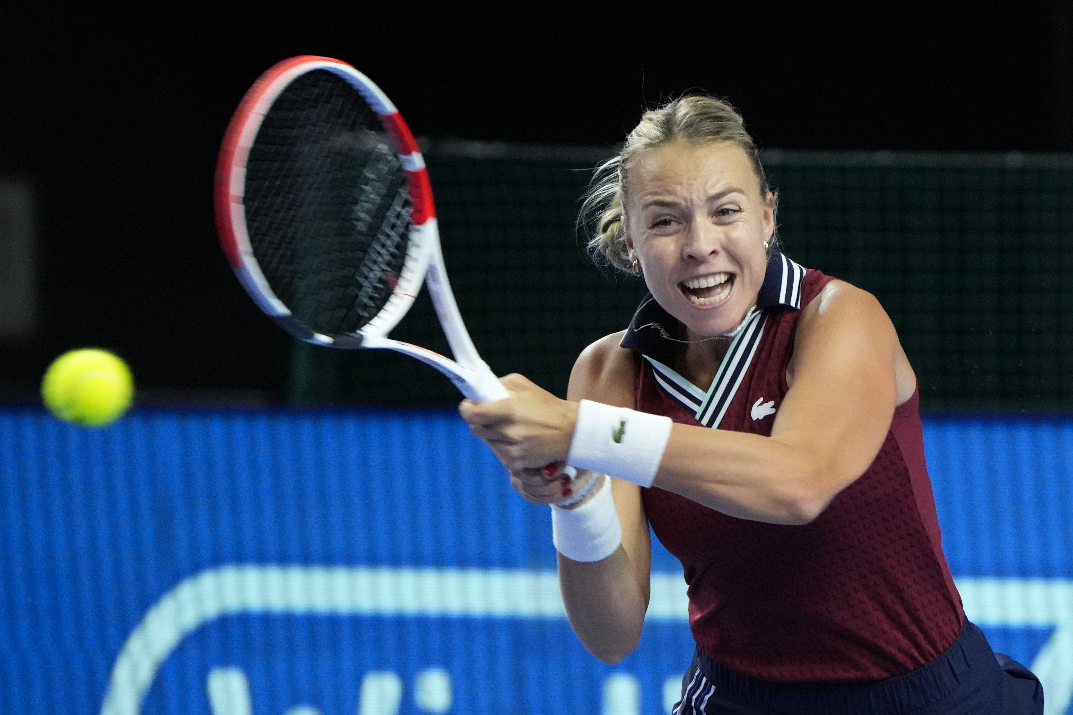 Kontaveit enfrenta a Alexandrova en final en Moscú