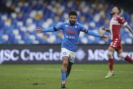 napoli arrasa 6-0 a fiorentina y se coloca tercero
