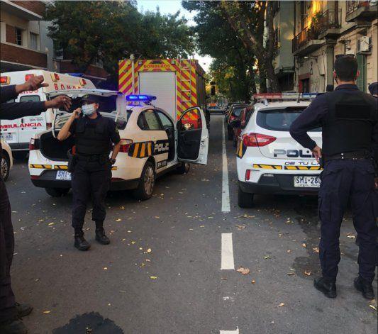 Cubano es abatido en Uruguay tras atacar a la policía con dos machetes