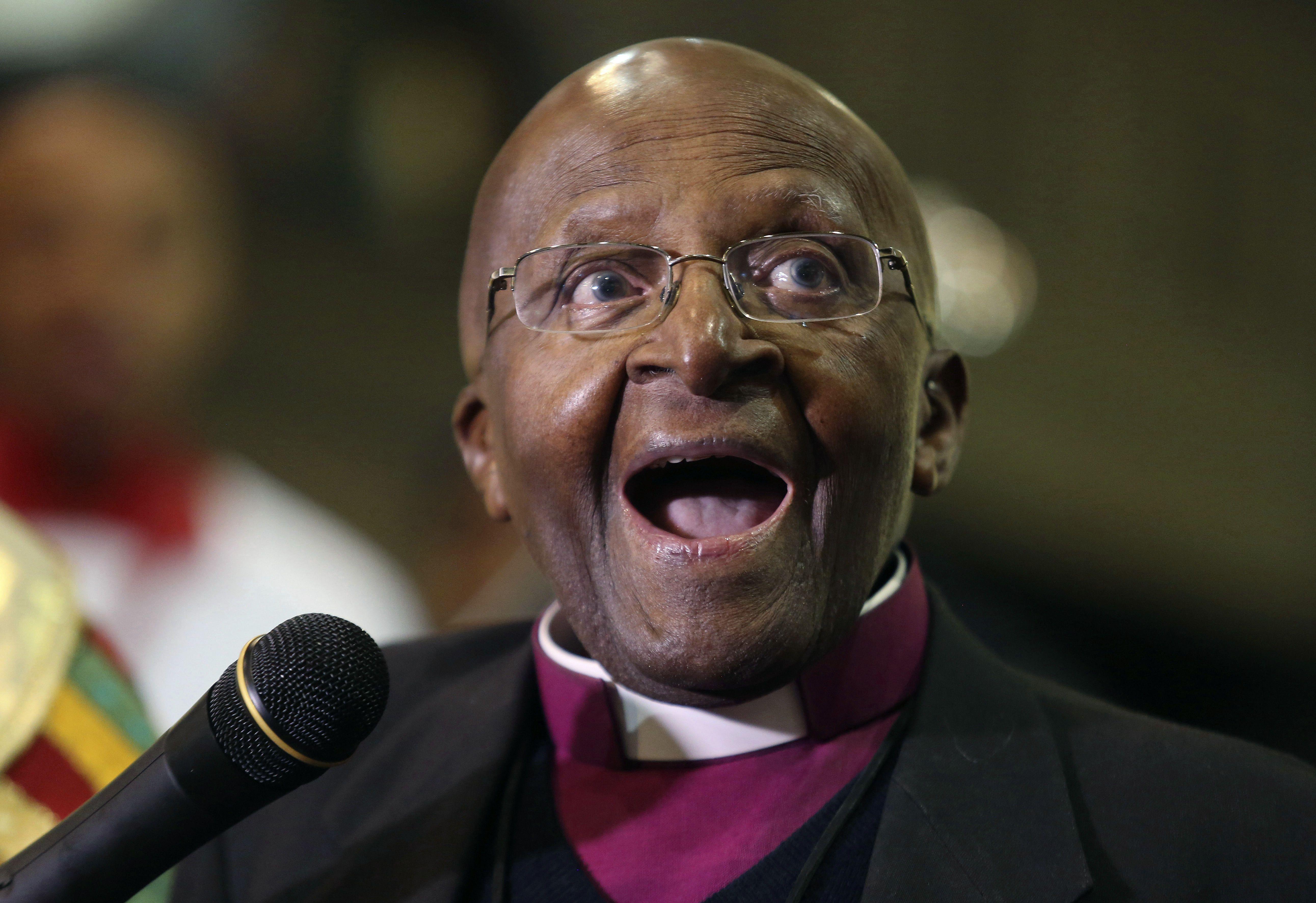 Sudáfrica: Arzobispo Desmond Tutu cumple 90 años