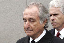 fallece en prision el financista bernie madoff: fuente ap