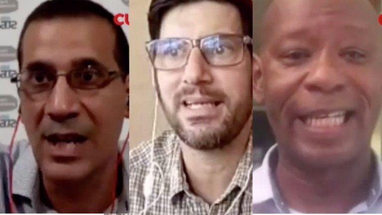 Un grupo de opositores cubanos se manifestaron en contra de las nuevas medidas de la administración Trump hacia la dictadura cubana