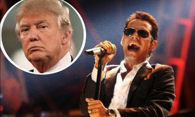 El exabrupto de Marc Anthony contra Donald Trump por Puerto Rico