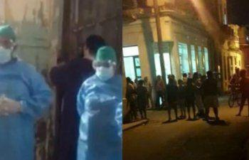 Ataque y desalojo de la sede del Movimiento San Isidro por fuerzas del régimen