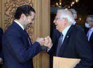 borrell: crisis politica en libano es por desconfianza