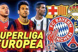 cisma en el futbol europeo, la elite va con su superliga