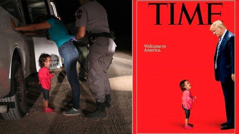 La niña llorando en la portada de la revista TIME nunca fue  separada de su mamá, dice la familia