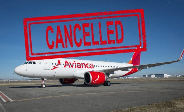 Avianca suspenderá a partir de enero de 2020 sus vuelos desde y hacia Cuba