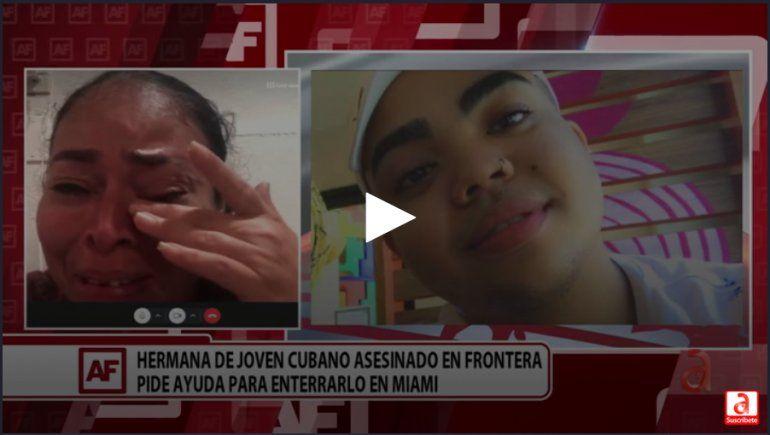 La hermana de un inmigrante asesinado en la frontera cuenta su historia en A Fondo