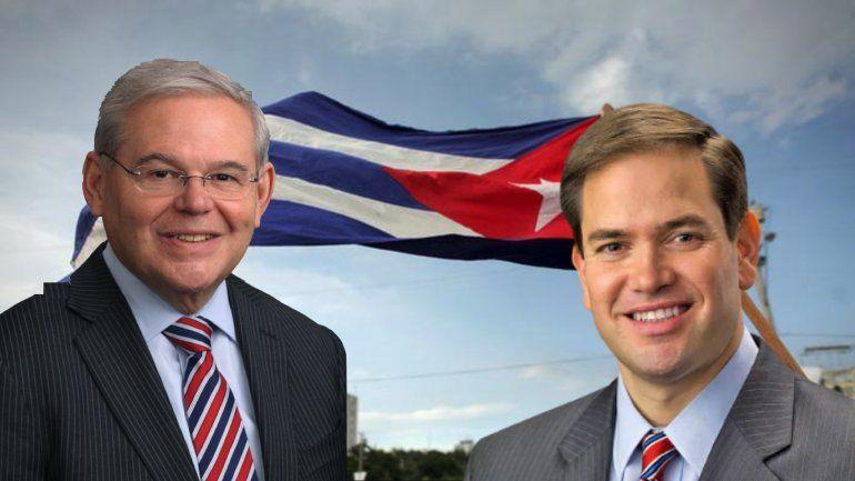 Los senadores Marco Rubio y Bob Menéndez piden al Departamento del Tesoro perseguir a empresas fantasmas cubanas