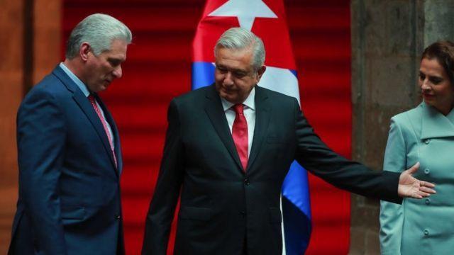 amlo pide al exilio cubano reconciliarse con el regimen y a eeuu levantar el embargo