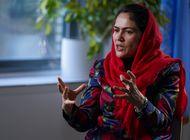 peleo por derechos de la mujer afgana, se tuvo que exiliar