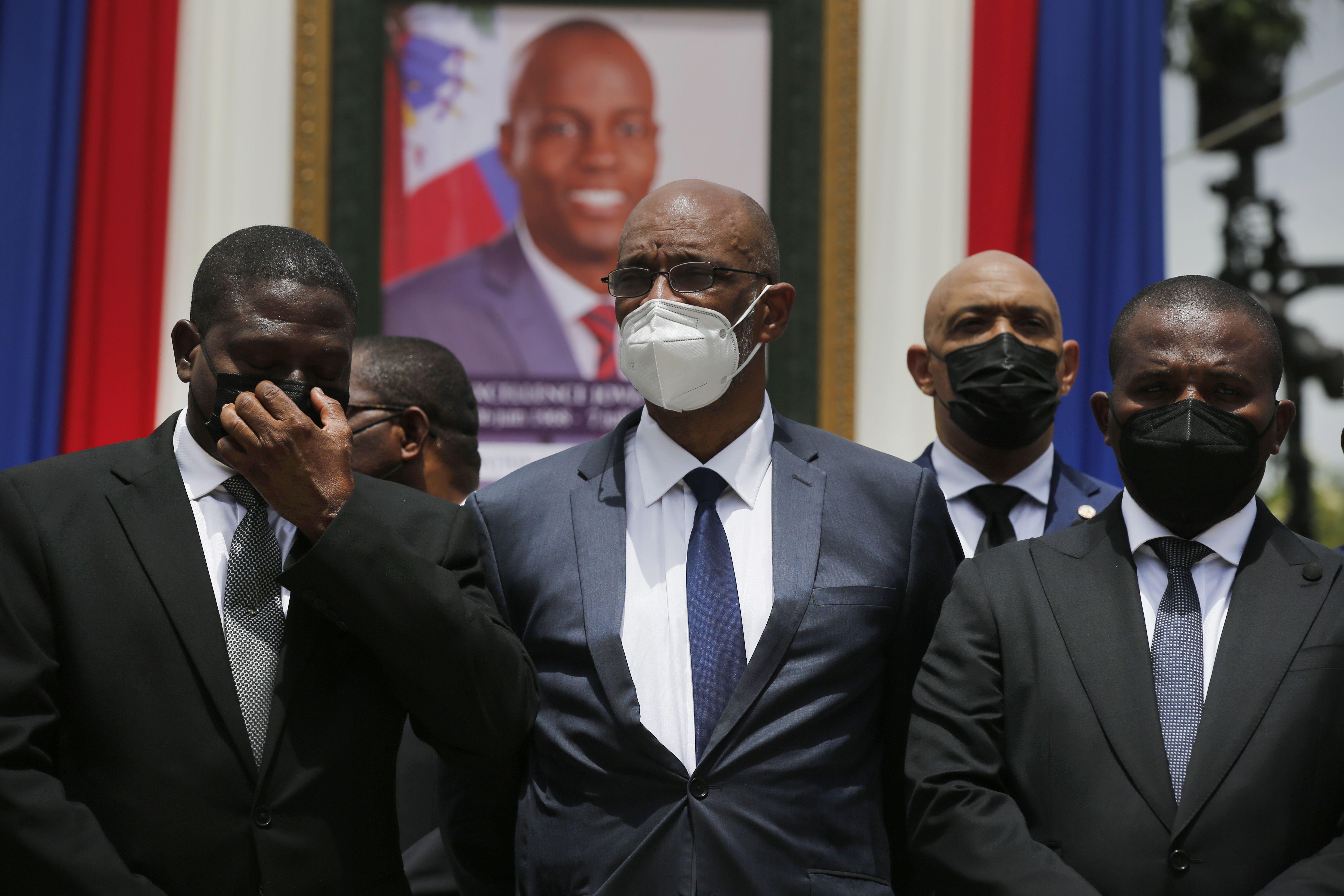 haiti: premier responde a senalamientos en el caso de moise