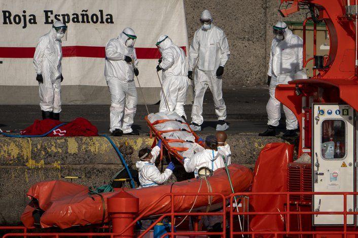 España rescata a migrantes cerca de Islas Canarias