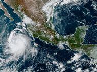 tormenta pamela se fortalece en costas del pacifico mexicano