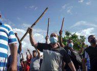 miguel diaz-canel sobre brutal represion contra el pueblo cubano: han tenido la respuesta que merecian