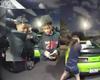 Tres jóvenes afroamericanos intentaron robar 3 cachorros de una casa y se llevaron una lluvia de balas