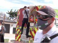 fallecieron la pareja de ancianos rescatados de un incendio en su casa de miami