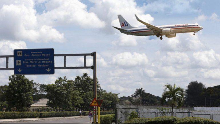 American Airlines mantendrá en el mes de Marzo solo un vuelo semanal Miami-La Habana